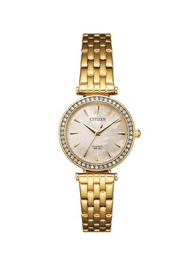 Citizen Er0212-50Y Kadın Kol Saati Altın